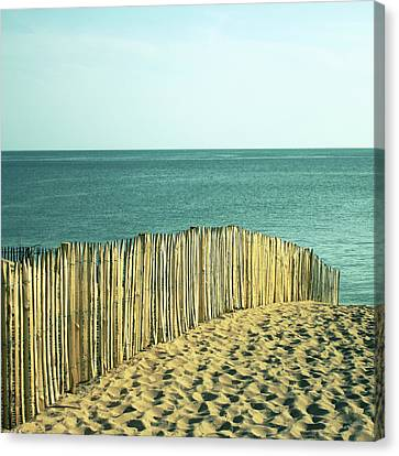 Beach Canvas Print by SylvainCollet