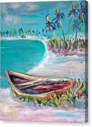 Patricia Taylor Canvas Print - Beached 5 by Patricia Taylor