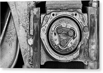 Bearing The Weight Canvas Print by Donald Schwartz