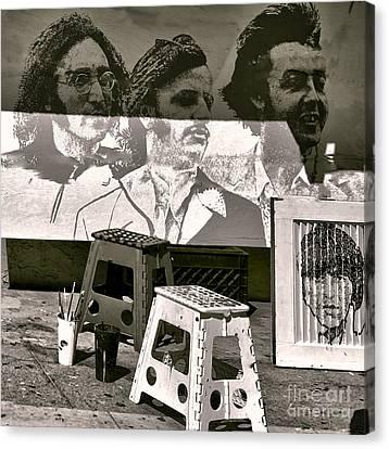 Beach Hop Canvas Print - Beatles I by Chuck Kuhn