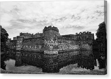 Beaumaris Castle Canvas Print by Julie Williams
