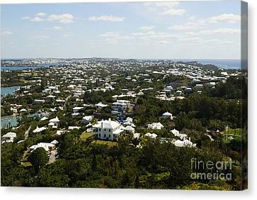 Beautiful Bermuda  Canvas Print