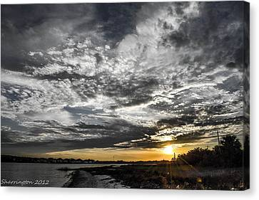 Beautiful Days End Canvas Print