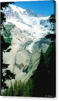 Beautiful Glacier Canvas Print