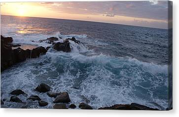 Beautiful Ocean Canvas Print by Luis and Paula Lopez