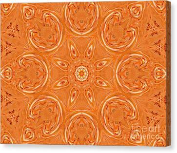 Beautiful Orange Canvas Print by Jeannie Atwater Jordan Allen