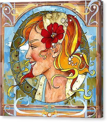 Beautiful Canvas Print by Robin Birrell