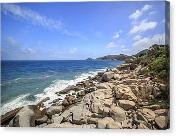 Beautiful Sea View Canvas Print by 712