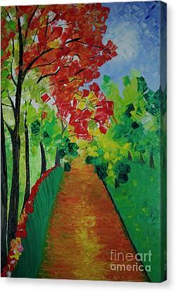 Beautiful Sunday  Canvas Print by Jalal Gilani