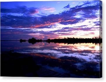Beautiful Sunset Canvas Print by Luis and Paula Lopez