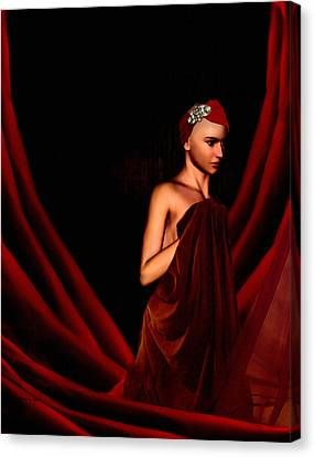 Beautifully Red Canvas Print by Lourry Legarde