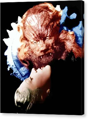 Horror Fantasy Movies Canvas Print - Beauty And The Beast, Aka La Belle Et by Everett