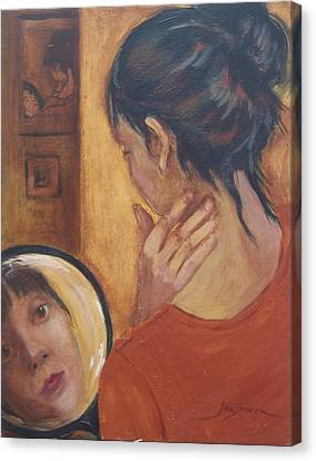 Beauty Canvas Print by Jan Swaren