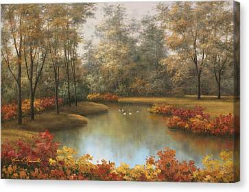 Beauty Of Autumn Canvas Print