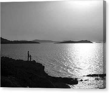 Canvas Print - Beauty Of Mykonos by Leslie Leda
