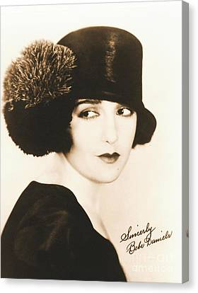 Bebe Daniels 1925 Canvas Print by Padre Art