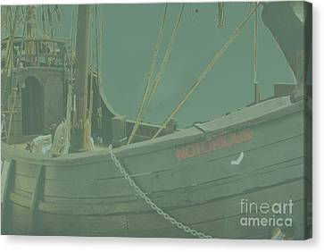 Becalmed In A Sea Mist Canvas Print