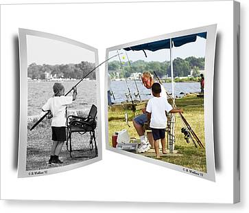 Becoming A Happier Day Canvas Print by Brian Wallace