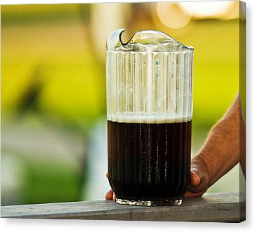 Beer 30 Somewhere Canvas Print by Edward Peterson