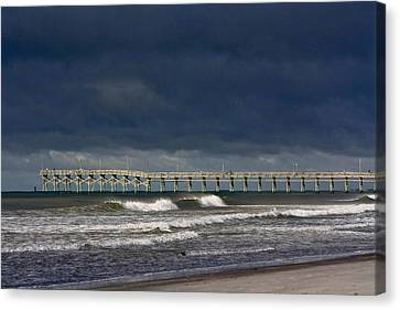 Canvas Print featuring the photograph Before The Storm by Laurinda Bowling