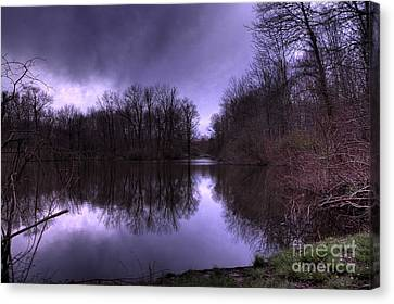Before The Storm Canvas Print by Paul Ward