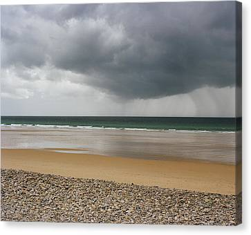 Before The Storm Canvas Print by Photography by Reza Bassiri