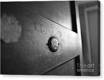 Behind Door No. 329 Canvas Print by Luke Moore