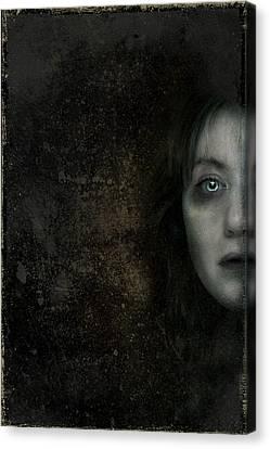 Behind The Door Canvas Print by Hazel Billingsley