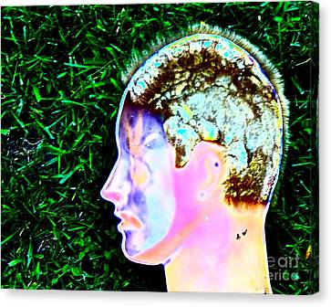 Being Of Light Canvas Print by Xn Tyler