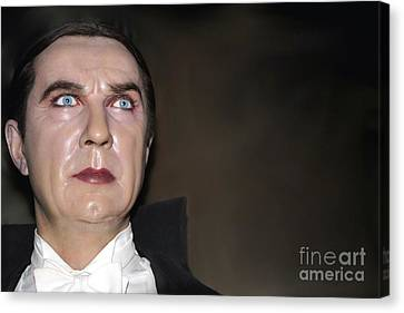 Bela Lugosi As Dracula Canvas Print by Sophie Vigneault