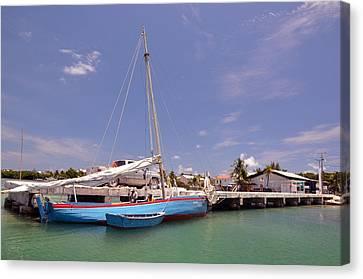 Belize Sailor Canvas Print by Ken  Collette