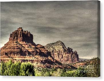 Bell Rock - Sedona Canvas Print by Dan Stone