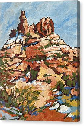 Bell Rock 2 Canvas Print by Sandy Tracey