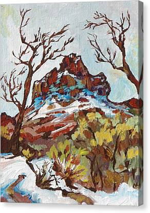 Bell Rock 3 Canvas Print by Sandy Tracey