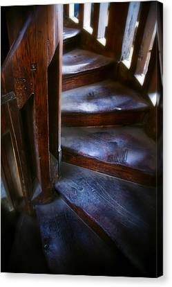 Bell Tower Steps II Canvas Print by John  Bartosik