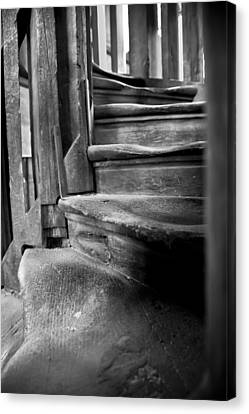 Bell Tower Steps1 Canvas Print