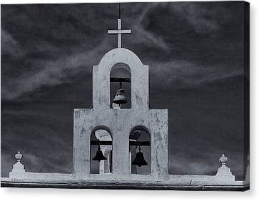 Canvas Print featuring the photograph Bell Tower by Tom Singleton