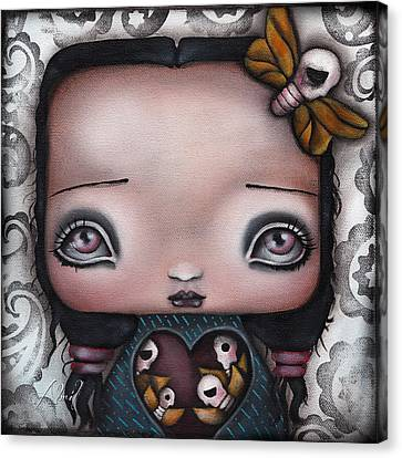 Bella Canvas Print by  Abril Andrade Griffith