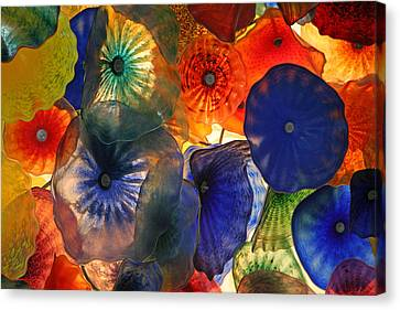 Bellagio Crystal Celing Lights Canvas Print