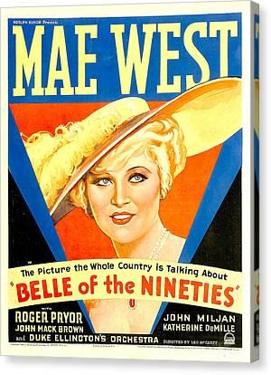 Belle Of The Nineties, Mae West, 1934 Canvas Print