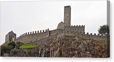Bellinzona - Ticino Canvas Print by Joana Kruse