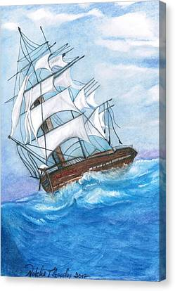 Belly Of The Whale Canvas Print