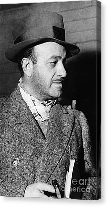 Ben Hecht (1894-1964) Canvas Print by Granger