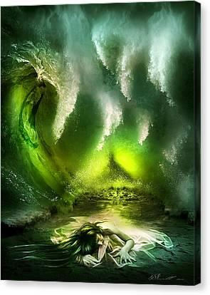 Beneath Canvas Print by Svetlana Sewell