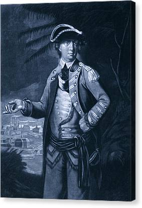 Benedict Arnold - Who Commanded Canvas Print by Everett