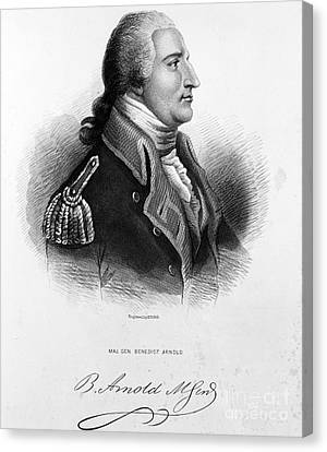 Benedict Arnold, American Traitor Canvas Print by Omikron