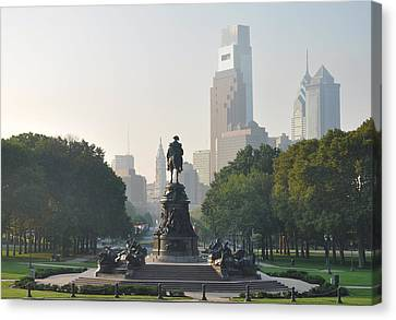 Benjamin Franklin Parkway Canvas Print