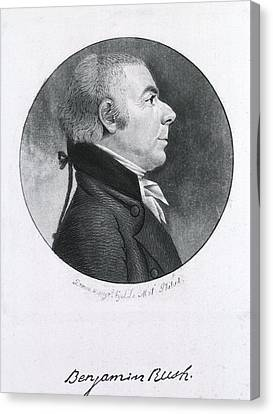 Benjamin Rush 1745-1813, Eminent Canvas Print by Everett