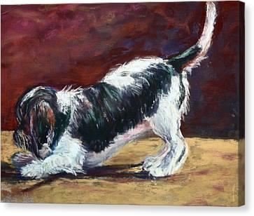 Bentley 2 Canvas Print by Joan Wulff