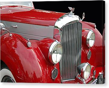 British Hot Rod Canvas Print - Bentley by Bill Dutting